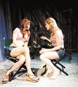 Melanie Sliwka and Tonya Glanz.