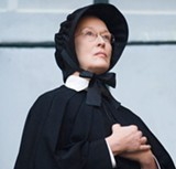 Meryl Streep's deathly pale Sister Aloysius is one scary nun.