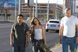 Michael Peña, Rachel McAdams, and Tim Robbins play three lonely Iraq war vets returning home.