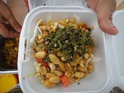 Grocery Cafe's tea leaf salad (via Facebook).