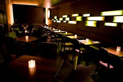 The dining room at Bijou. - BIJOU