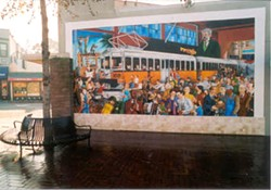 The original mural, via Rische-Baird.com.
