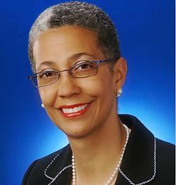 Mills College President Alecia DeCoudreaux. - MILLS COLLEGE