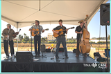 TINA CASE PHOTOGRAPHY - Mitch Polzak, second from left, and Will Thacher, third from left, performing at food festival in San Mateo