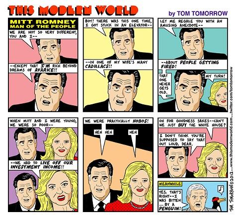 Mitt Romney, Man of the People