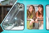 BERT JOHNSON - Molly Gaylord and Karina Vlastnik plan to sell tea out of their new Steep Tea Co truck.