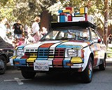 JUTTA/FLICKR (CC) - Mondrian Art Car at the How Berkeley Can You Be? festival.