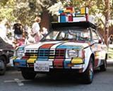 JUTTA/FLICKR (CC) - Mondrian Art Car at the How Berkeley Can You Be? festival.