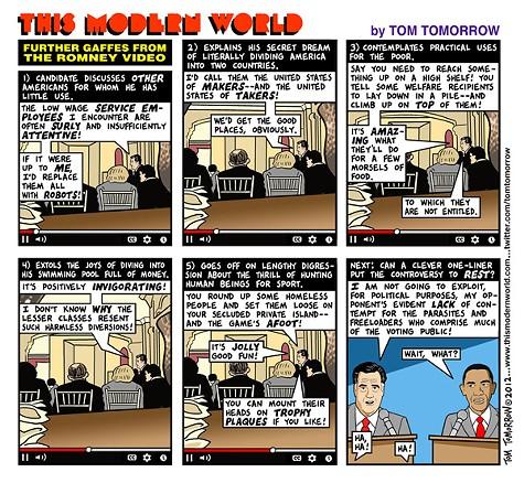 More Romney Gaffes