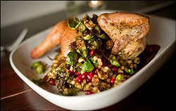 Moroccan roast chicken at Mockingbird - CHRIS DUFFEY / FILE PHOTO