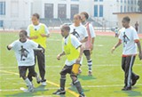 My Yute Soccer Camp.