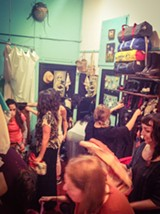 COURTESY OF NATASHA HARDEN - Naked Lady Soiree is a chance to meet people and shop at the same time.