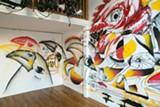 BERT JOHNSON - Naming Gallery's current installation.