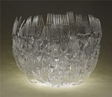 Not what it seems: Meeker's plastic fork bowl.