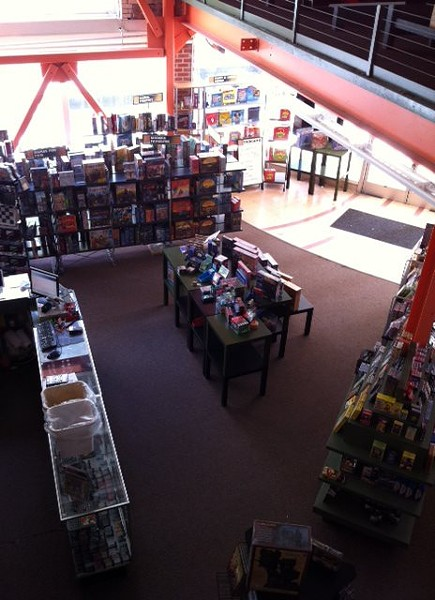View of EndGame's retail store, circa 2012 (via Facebook).