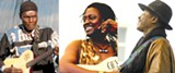 Oliver Mtukudzi, Habib Koité, and Afel Bocoum are performing  together on the Acoustic Africa tour.