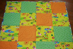 One of Quilts4Japans quilts, destined for Japan.
