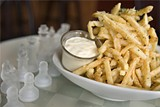 CHRIS DUFFEY - Ordinary fries, extraordinary aioli.
