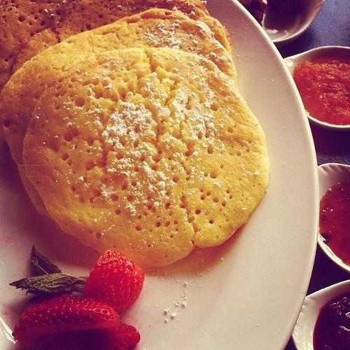 Pancakes, Moroccan style (via Facebook).