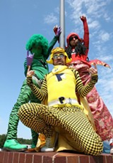 Peelander-Z: Maybe the greatest live spectacle today.