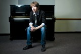 SARA KIESLING - Pianist Julian Waterfall Pollack is one of many Berkeley High alums who decided to move to New York to make it.