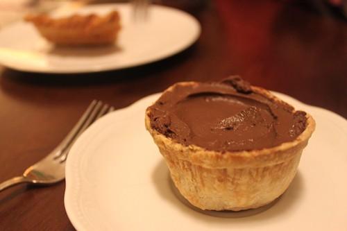PieTisseries chocolate cream mini-pie