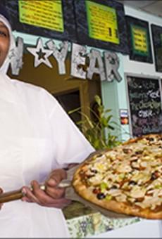 Pizza Plaza's Cruelty-Free Pizza Zone