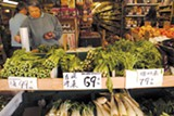 ALISSA FIGUEROA - Produce in Chinatown tends to be ripe, and thus cheaper.