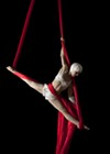 Rain Anya of The Paper Doll Militia aerial troupe says the circus is an effective social tool.