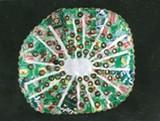 """""""Recycled Kiwi"""" by Margo Rivera."""