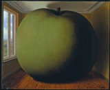 """Rene Magritte's """"La chambre d'ecoute (The Listening Room)."""""""