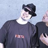 Representa!: Paul S. Flores, left, and Julio Crdenas