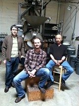 Rich Avella, Robert Myers, and Eric Hashimoto. Ali Roth