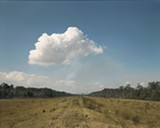 "Richard Misrach's ""Norco Cumulus Cloud, Shell Oil Refinery, Norco, Louisiana, 1998."""