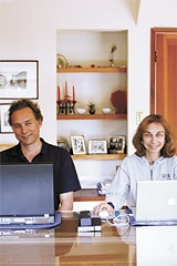 JENNY PFEIFFER - Robert Vogel and Simona Carini.
