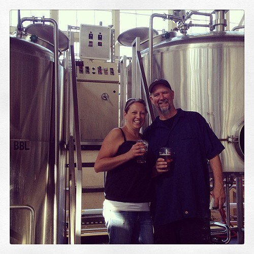 Rodger Davis and Claudia Pamparana of Faction Brewing.