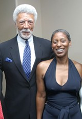 JIM DENNIS - Ron and Cynthia Dellums.