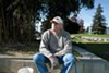 Ron Wolf is a volunteer who takes care of Lafayette Square Park in downtown Oakland.