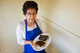 CHRIS DUFFEY - Rosa Oliva has been refining her mole recipe since she was eight years old.