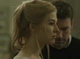 Rosamund Pike and Ben Affleck star in the irresistible film noir Gone Girl.