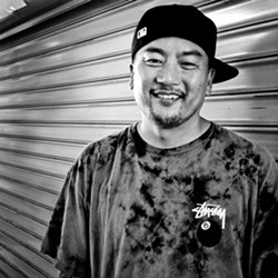 "Roy Choi, the ""wild card."" - TRAVIS JENSEN"