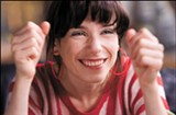 Sally Hawkins plays Poppy in Mike Leigh's Happy-Go-Lucky, the year's best movie.