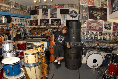Sam Adatos Drum Shop closes on Monday.