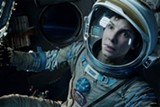 Sandra Bullock portrays a strong female character in Gravity.