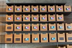 Racks of medical marijuana at a licensed San Francisco dispensary. - DPA