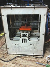 Sean O'Steen's MakerBot Cupcake CNC.