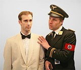 STUDIOSTU - Sean Robert Griffin as Rick Blaine and - Ryan Meulpolder as Major Strasser in Town Hall Theatre Companys Let's Go to - Casablanca.