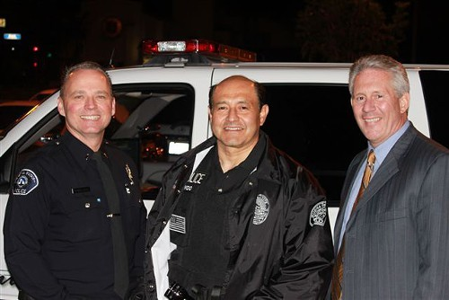 Sen Lou Correa, (center) wants to jail you for driving sober