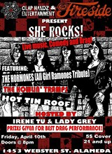 """SHE ROCKS!"" at The Fireside Lounge!"