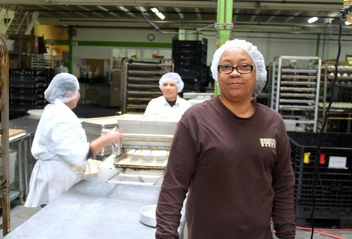 Sheila Young-Eberhart credits Rubicon Bakery with helping her turn her life around.